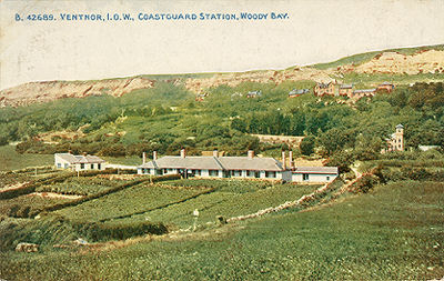 Woody Bay Coastguard Station