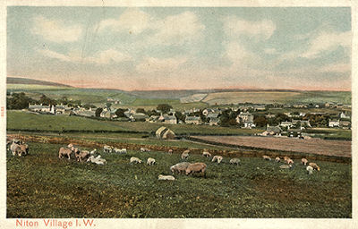 View of Niton Village