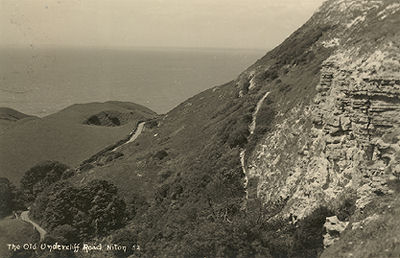 Old Undercliff Road, Niton